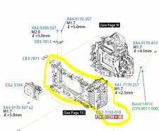 CANON EOS 5D Mark III 3 Main Base Plate Parts CG2-3192