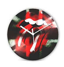 "Rolling Stones 12"" LP Vinyl Record Clock Christmas Gift Present Rock Icon CL21"