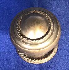 Vintage English Brass Round Door Knob