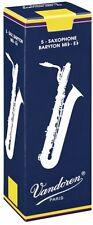 VANDOREN TRADITIONAL BARITONE SAXOPHONE REEDS 3.0 5/box