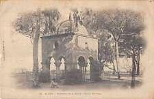 Alger Algeria Tombeau de la Reine Marengo Garden Antique Postcard J50476