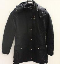 Winterjacke für Damen schwarz Ladies Parka von Red | Größe L (K104)
