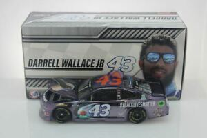 "Darrell ""Bubba"" Wallace 2020 #BLACKLIVESMATTER 1:24 Color Chrome Nascar Diecast"