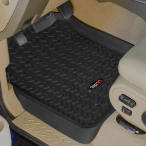 Rugged Ridge 82987.26 Black Front and Rear Floor Liner Kit for Ford Super Duty F250//350 08 Up 4-Piece