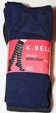4c4c2b149 K.Bell Women s Modal Knee High Socks 4 Pairs Black