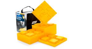 RV Leveling Blocks Heavy Duty Single Dual Wheels Hydraulic Durable Jacks 10 Pack