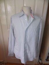 Excelente Para Hombre de Diseñador Scotch & Soda Camisa a Cuadros UK Tamaño Medio Rrp £ 65