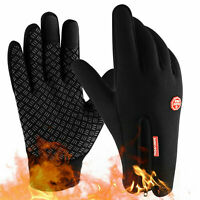 Winter Handschuhe Damen Herren Fahrrad Thermo Handschuhe Wasserdicht Touchscreen