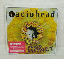 Radiohead Pablo Honey 2009 Taiwan Ltd 2-CD+DVD w/BOX