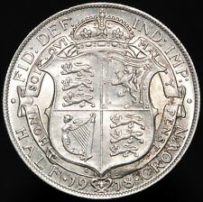 More details for 1918   george v half-crown 'die 1+a'   silver   coins   km coins