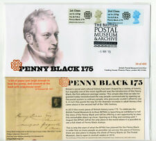 BPMA PENNY BLACK 175th Post & Go  SPECIAL FDC LIMITED 400 SOLD OUT!