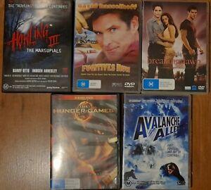 DVD Bulk Lot Choose 1, Every DVD $6 Assorted Titles,M, Drama Region 4 Freepost