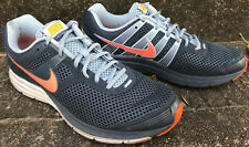 Nike Zoom Structure+ 16 Wolf 536843-484 Grey Org Marathon Running Shoes Men's 11