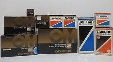 Olympus OM-2 Bundle, Tamron Lenses and Accessories, Tamrac  614 Case.