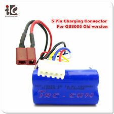 """5 PIN 14.8V 1500MAH BATTERY G.T. 53"""" QS 8006 RC HELICOPTER PARTS QS8006 -014"""