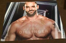 WWE Tye Dillinger Firmato Autografato 8x10 foto con PROOF RARA 3