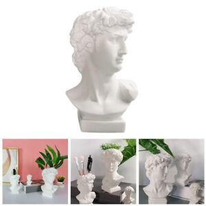 David Head Plant Pot Flower Vase Decorative Bust Statue Planter