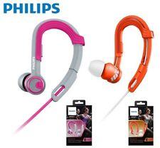 [PHILIPS]Action-Fit SHQ3300 In-Ear Headphones WaterProof Pink and Orange Genuine