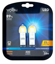 3W G9 Bulb / G9 Lamp LED A++ Energy Saving Non-Dimmable 300 Lumen Warm White
