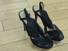 Elite Black a stiletto Plateau Scarpe-misure UK 6.5/EU 40