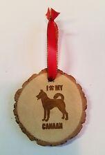 I Love My Canaan Dog Ornament Pet Keepsake Gift Christmas Dog Show