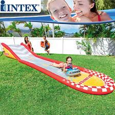 Intex Wasserrutsche Kinder Wasserbahn Pool 561cm Rutsche Badespaß Schwimmrutsche