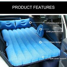 Car SUV Portable Travel Camping Inflatable Air Mattress Rear Cushion Mat