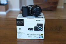 Sony Alpha NEX-3N Mirrorless Digital Camera w/ 16-50mm f/3.5-5.6 OSS Lens Black