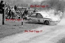 Mike Dunnion Vauxhall Chevette 2300 HSR Circuit of Ireland Rally 1984 Photograph