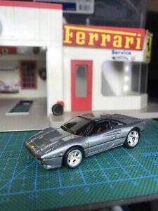 🌑Hot Wheels Garage Ferrari 288 GTO Chase Real Riders Silver Mint'