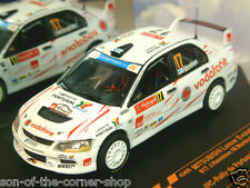 VITESSE 1/43 MITSUBISHI LANCER EVO EVOLUTION IX #17 IRC RALLY DE PORTUGAL 2008