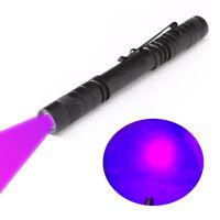 Ultra Bright 395nM UV Pen Light Flashlight Curing UV Resin Fly Tying Blacklight
