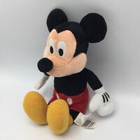 "DISNEY MICKEY MOUSE BEAN BAG PLUSH 10"" Walt Disney Plush CUTE"