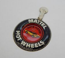 Redline Hotwheels Button Badge Metal Hong Kong Custom Fleetside R17308