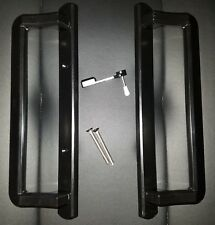 Sliding Glass Door Handle Set/Black/Elegant!/Heavy, Solid!/Pgt and Others/New!