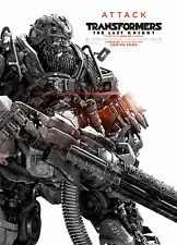Transformers: The Last Knight Movie Poster (24x36) - Hound, Hot Rod, Cogman v12