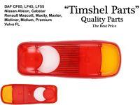 Lichtscheibe Rücklichtglas Rückleuchtenglas Für VW T5 Renault DAF Volvo Nissan
