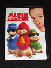 ALVIN AND THE CHIPMUNKS DVD (LIKE NEW)