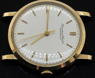 International Watch Co. IWC Schaffhausen vintage 18K gold mechanical men's watch