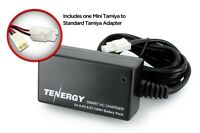 Tenergy Airsoft Smart Charger for 8.4v - 9.6v NiMH Airsoft Batteries w/ Adapter