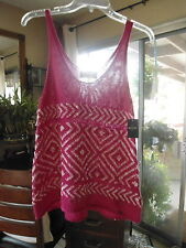 NEW ... HOLLISTER... Woman's Knit Cami Top  .. Size M   Pink