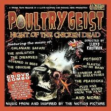 Poultrygeist: Night of the Chicken Dead by Original Soundtrack CD/DVD  NEW