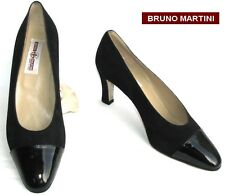 BRUNO MARTINI - SHOE ALL LEATHER BLACK 39 - NEW