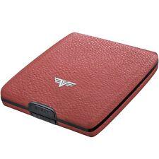 TRU VIRTU Leather Aluminium Purse - Wallet Credit card case EC-cards case new