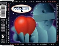 Major T. (Bohlen) I can only give you my heart (1994) [Maxi-CD]