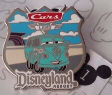 Fillmore Cars Land Disneyland Resort Costco Travel Shield Disney Pin 94834