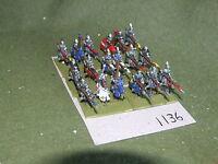 15mm medieval / generic - Knights 18 Cavalry - cav (A1136)