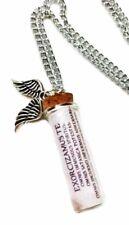 Supernatural TV Series Exorcism Spell Glass Bottle Pendant Necklace
