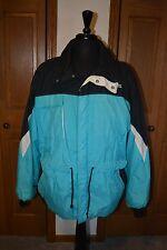 VTG Men's Polaris Coat Jacket Parka Duffel Coat LARGE Sky Blue Thinsulate MINT!