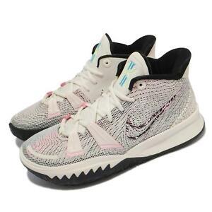 Nike Kyrie 7 EP VII Irving Pale Ivory Blue Black Men Basketball Shoes CZ0143-100